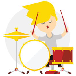 la registrazione della batteria
